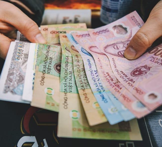 Billetes coreanos