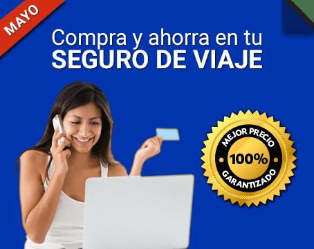 ¡Compara y ahorra en tu seguro de viaje online!