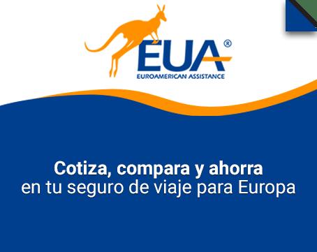 Cotiza compara y ahorra en tu seguro de viaje para Europa