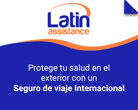 Seguro de viaje internacional Latin Assistance