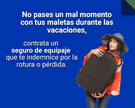 Protege tus objetos más preciados con un seguro de equipaje
