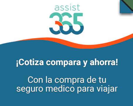 Seguro medico Assist 365