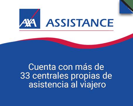 Axa Assistance seguro para viajar