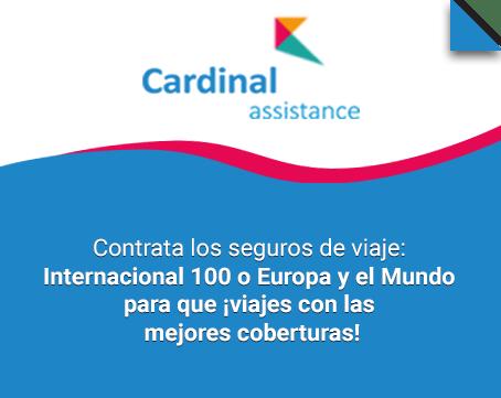 Seguros de viaje Cardinal Assistance
