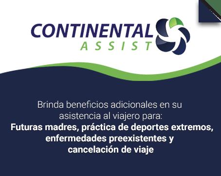 Seguro de viaje Continental Assist