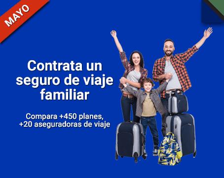 ¿Seguro de viaje familiar? Cotiza y compara ¡gratis! ahorra en tu compra online