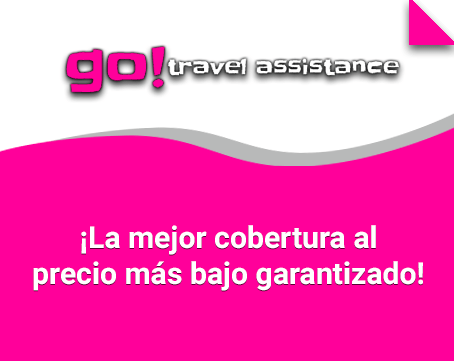 Coberturas Go! Travel Assistance ¡Compara y ahorra!