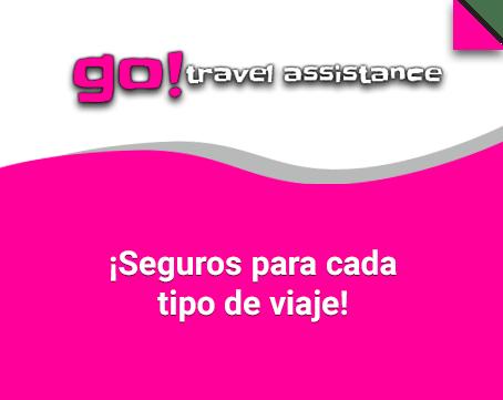 Tu seguro Go! Travel Assistance para cada tipo de viaje