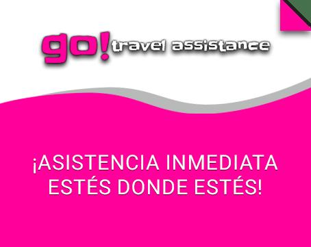 Go! Travel Assistance te ofrece asistencia inmediata