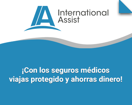 Seguro médico de International Assist ¡viaja protegido!