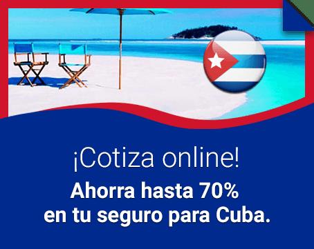 ¿Viajas a Cuba? Tu seguro de viaje hasta 70% OFF