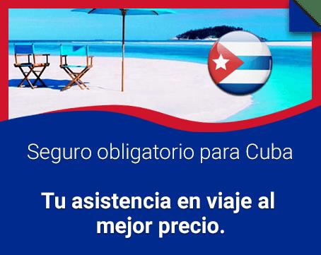 Seguro de viaje para Cuba ¡Cotiza y ahorra!