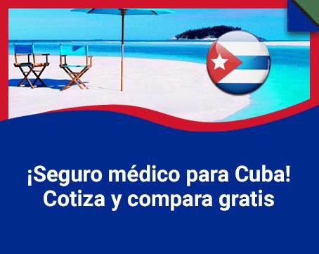 Tu seguro obligatorio para Cuba online, simple y rápido