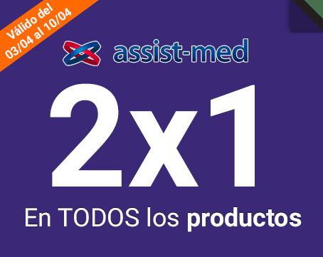 2x1 en todos los productos Assist Med
