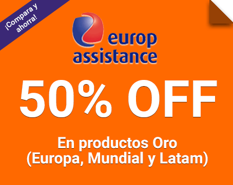 50% Off en los productos de Europ Assistance